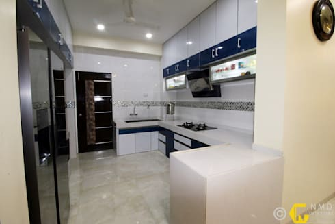 Dr Burte: asian Kitchen by NMD Interiors