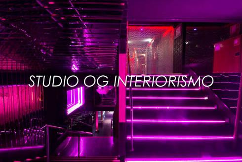 Bares y clubs de estilo  por STUDIO OG INTERIORISMO