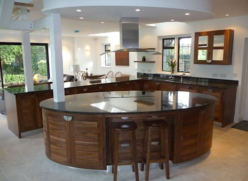 Bespoke Kitchen Design:   by Carpenter Cape Town