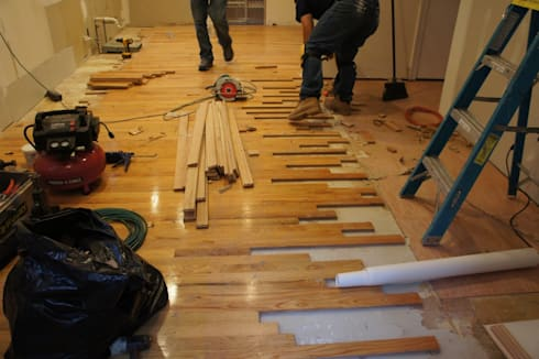Wooden Floor Repair:   by Carpenter Cape Town