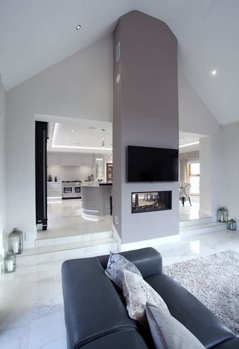Living room by Designer Kitchen by Morgan