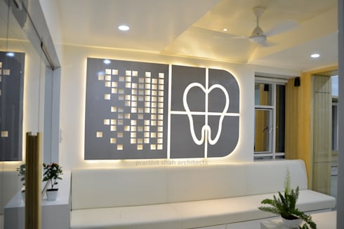 Roots Dental Clinic:  Artwork by prarthit shah architects