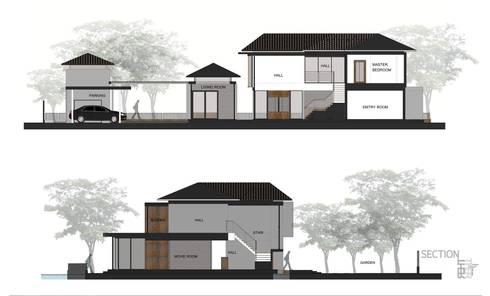 BAAN LADAWAN / RENOVATION 2015-2017:   by THER Studio Architect Design co.,ltd