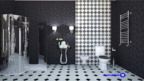 Bathroom in art deco style: classic Bathroom by 'Design studio S-8'