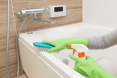 Residential Bathroom Cleaning:   by Cleaning Services Johannesburg
