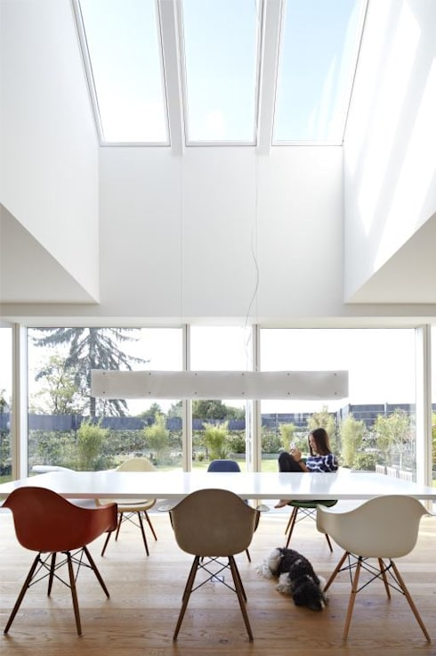 Dining room by Falke Architekten