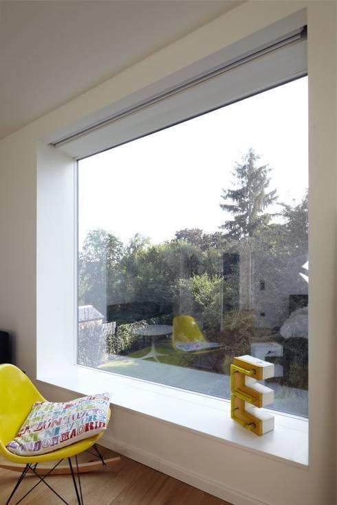 Projekty,  Okna zaprojektowane przez Falke Architekten