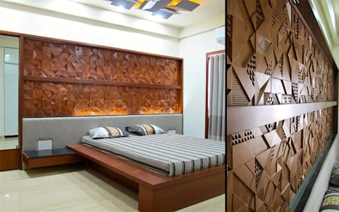 Architects at work interior of rajesh patel homify - Farnichar bed photo ...