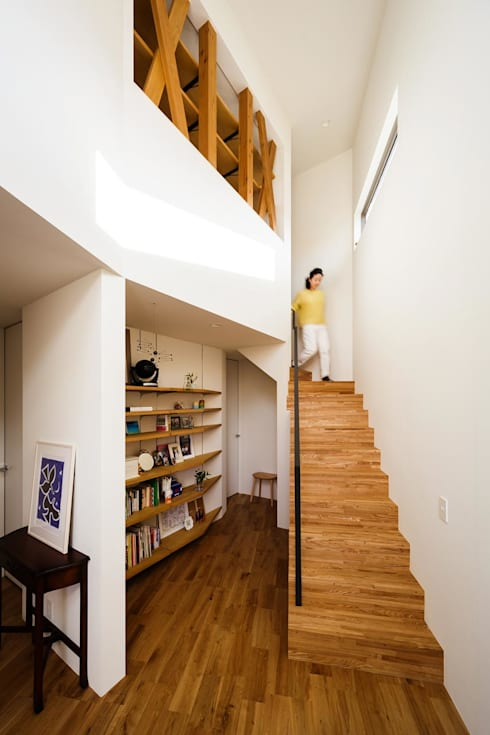 玄関ホール: 株式会社seki.designが手掛けた廊下 & 玄関です。