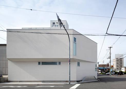 北外観: atelier mが手掛けた家です。