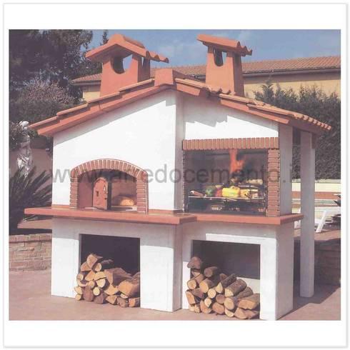 Forni e barbecue in muratura di arrecocemento homify for Barbecue in muratura obi