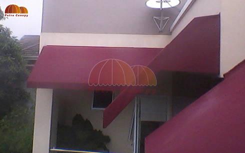 Canopy Kain Jakarta:  Balconies, verandas & terraces  by Putra Canopy
