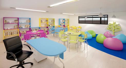 INSTITUCIONAL: Escuelas de estilo  por Elementum Arquitectos SAS