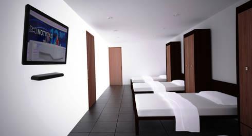 INSTITUCIONAL: Hoteles de estilo  por Elementum Arquitectos SAS