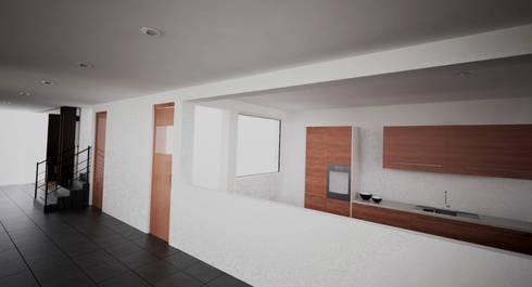 INSTITUCIONAL: Edificios de oficinas de estilo  por Elementum Arquitectos SAS