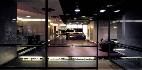 台中Being  Spa休閒運動中心:  健身房 by 鼎爵室內裝修設計工程有限公司