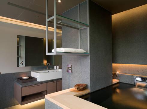 住宅(低調 奢華):  浴室 by 鼎爵室內裝修設計工程有限公司