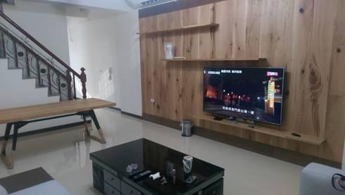 木地板的轉化:  牆壁與地板 by ModernTree flooring co.,Ltd