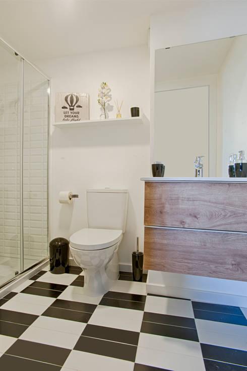 Projekty,  Łazienka zaprojektowane przez menta, creative architecture