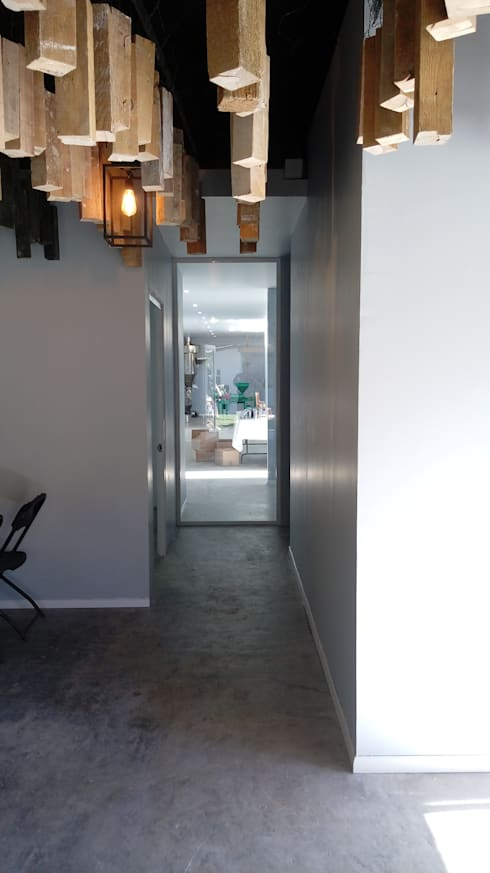 Dining room by taller garcia arquitectura integral