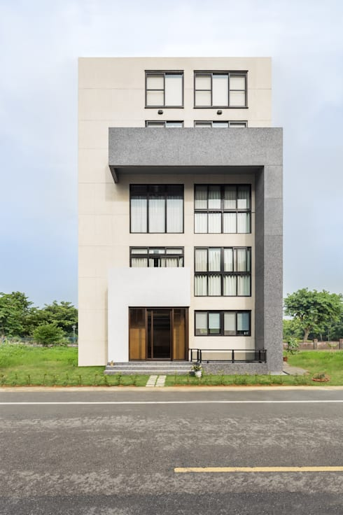 綠森活 Living in a Green Forest:  房子 by Glocal Architecture Office (G.A.O) 吳宗憲建築師事務所/安藤國際室內裝修工程有限公司
