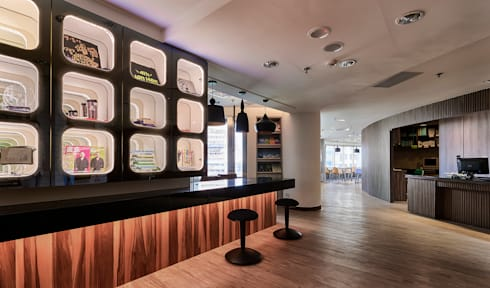 我的補習時代 After School:  商業空間 by Glocal Architecture Office (G.A.O) 吳宗憲建築師事務所/安藤國際室內裝修工程有限公司