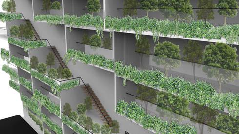 運動時尚 Urban & Sporty / Hybird Lifestyle:  房子 by Glocal Architecture Office (G.A.O) 吳宗憲建築師事務所/安藤國際室內裝修工程有限公司