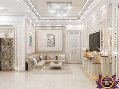 ​  Hospitality interior ideas of Katrina Antonovich:  Corridor & hallway by Luxury Antonovich Design