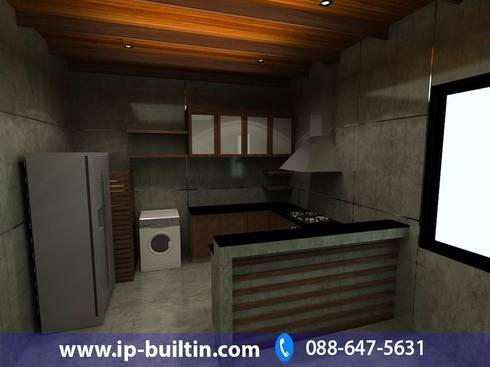 ตกแต่งภายในห้องครัว:   by IP BUILT IN