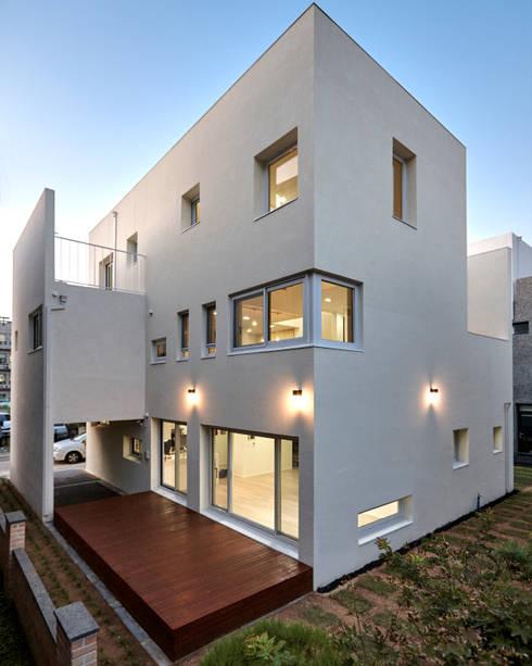 Дома в . Автор – (주)건축사사무소 코비