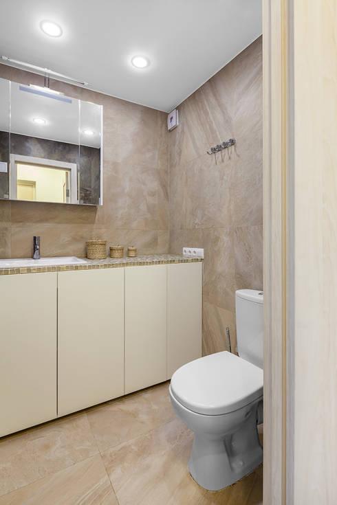 Тимирязевская: Ванные комнаты в . Автор – Flatsdesign