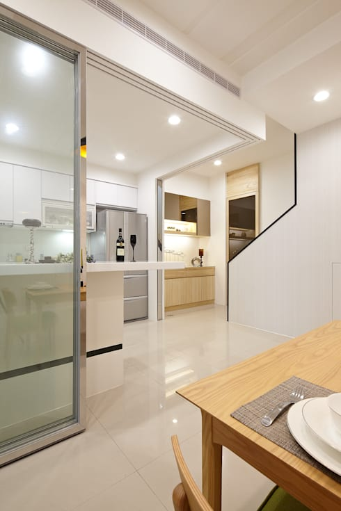 Cucina in stile  di 映荷空間設計