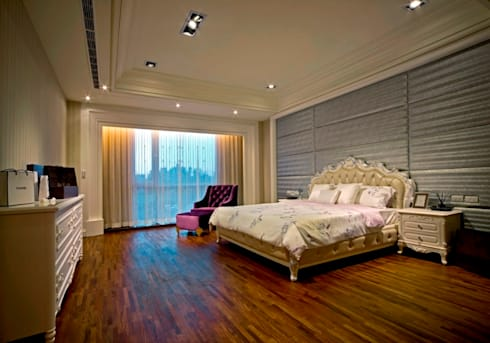 modern Bedroom by 世家新室內裝修公司