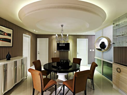 classic Dining room by 世家新室內裝修公司