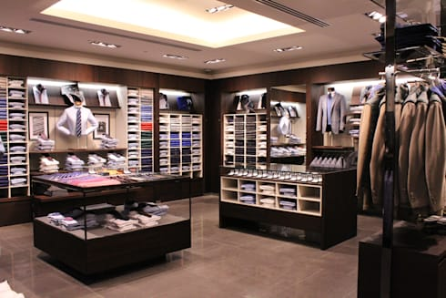 BOGGI MILANO—MARINA BAY SANDS:  Commercial Spaces by M2A Design