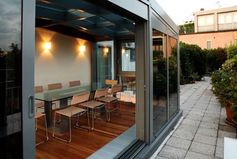 Un giardino d 39 inverno a milano di t t architettura homify - Giardino d inverno in terrazza ...
