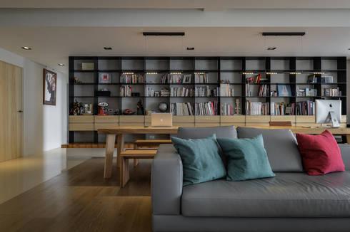 格子趣:  書房/辦公室 by 參與室內設計有限公司