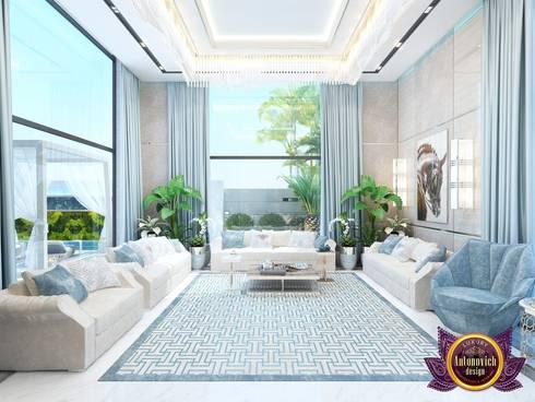   Modern Interior living room of Katrina Antonovich: modern Living room by Luxury Antonovich Design