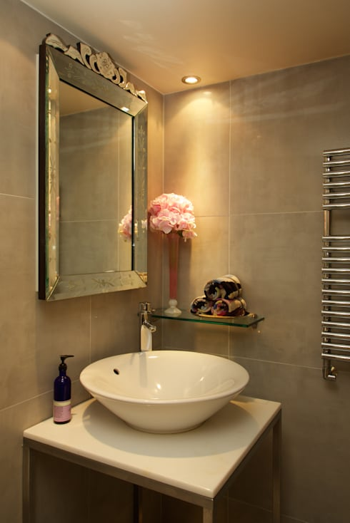 London Loft: modern Bathroom by JKG Interiors