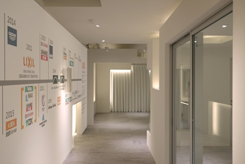 Pavilion 日商LIXIL展示中心室內設計案:  商業空間 by 構築設計
