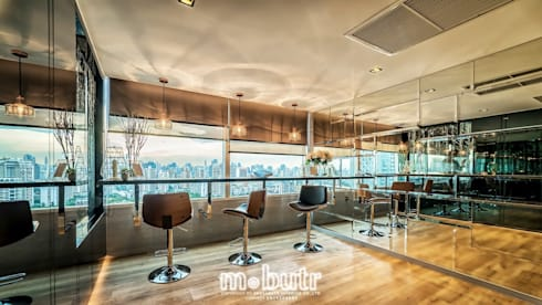 Eight Thonglor Residence :  ตกแต่งภายใน by AMESABUTR INTERIOR