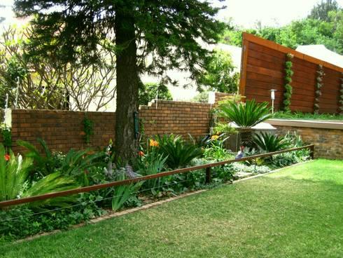 Large Family Garden: modern Garden by Young Landscape Design Studio