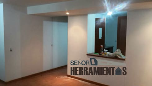renovacion pintura apartamento: Comedores de estilo clásico por Señor herramientas