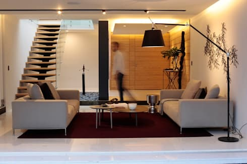 modern Living room by MM estudio interior