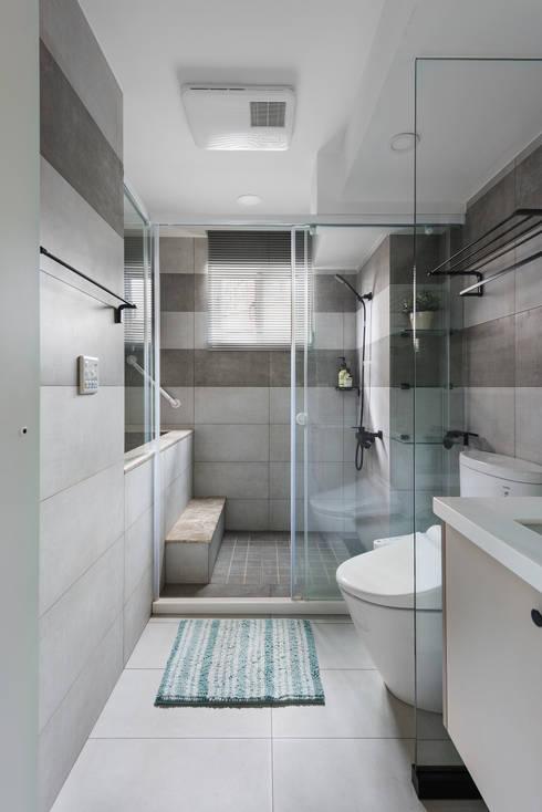 家:  浴室 by 倍果設計有限公司