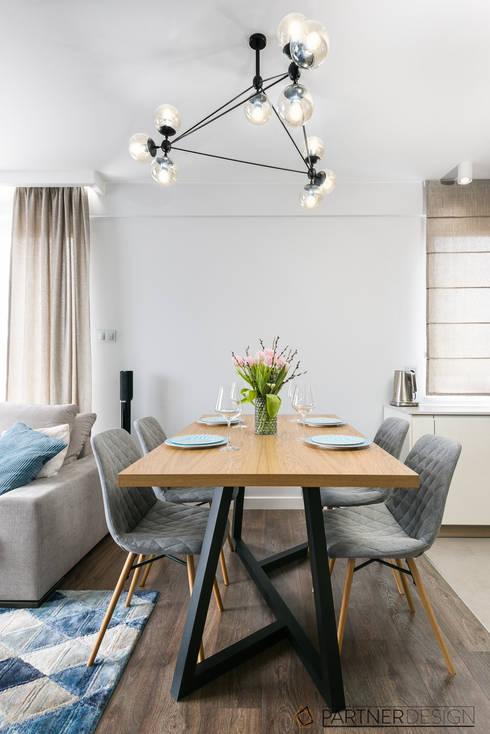 Apartament Dąbie: styl , w kategorii Jadalnia zaprojektowany przez Partner Design