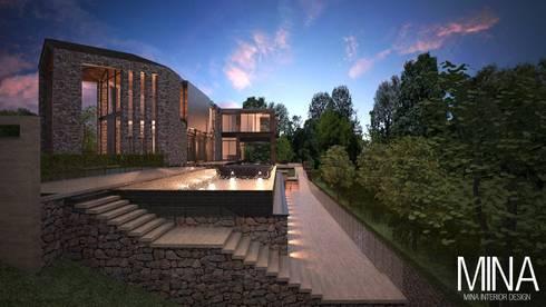 บ้านพักตากอากาศ ในจังหวัดสระบุรี :   by MINA Interior Design