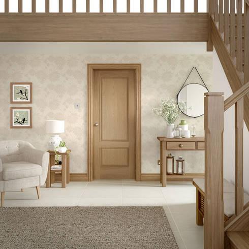 Andria Oak Internal Door:  Windows & doors  by Modern Doors Ltd