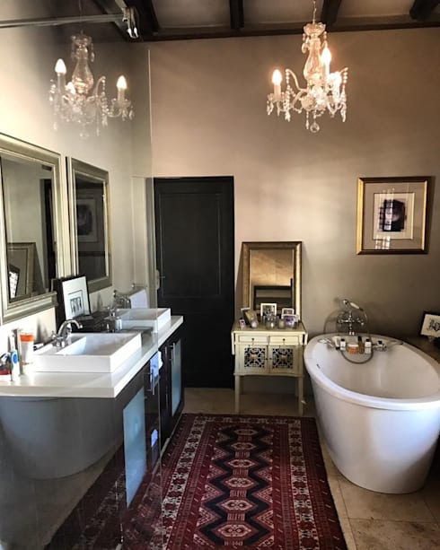 Ванные комнаты в . Автор – CS DESIGN
