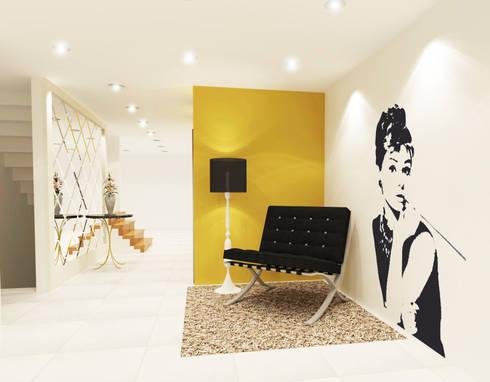 Living Room 3D Design #2:  ห้องนั่งเล่น by SIAMTAK CO., LTD.